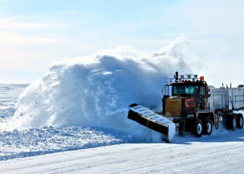 Snowplow Public Works