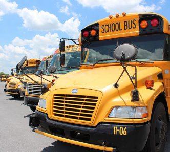 Floyd County School District bus